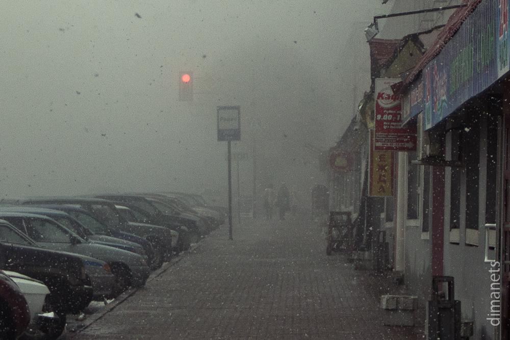 Город снега и тумана