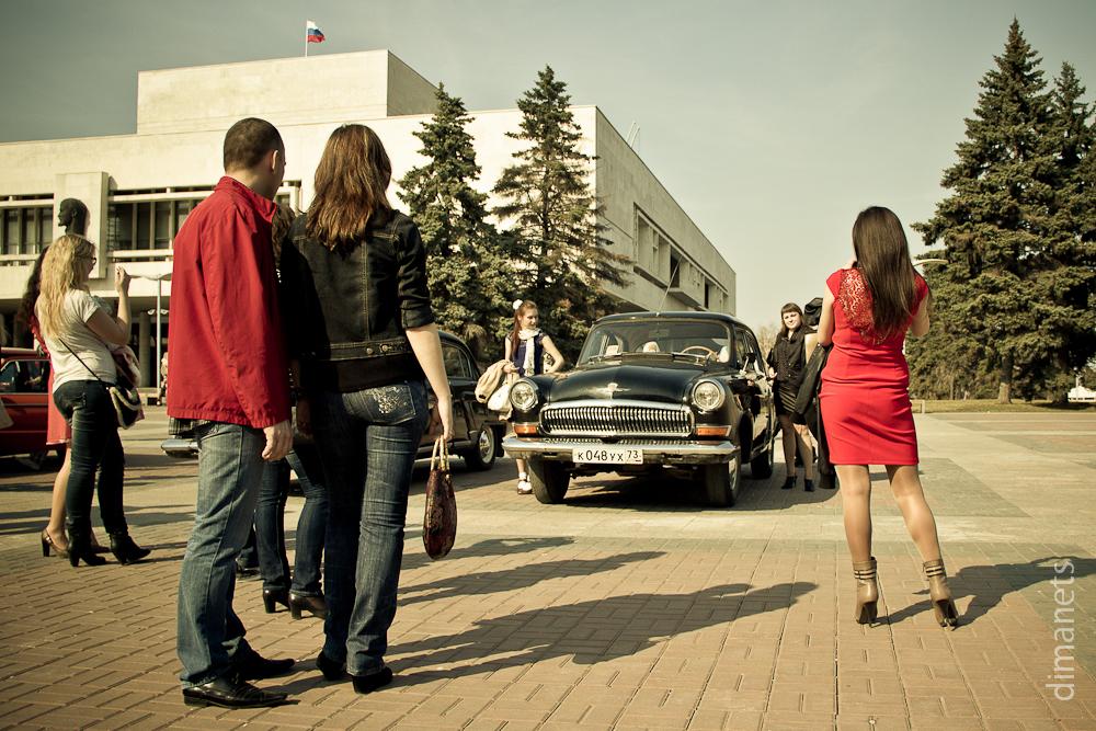 Выставка ретро-автомобилей