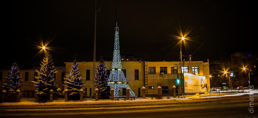Башня Эйфеля на родине Ленина