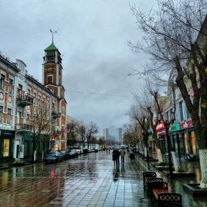 Оренбург. Пешеходная улица Советская