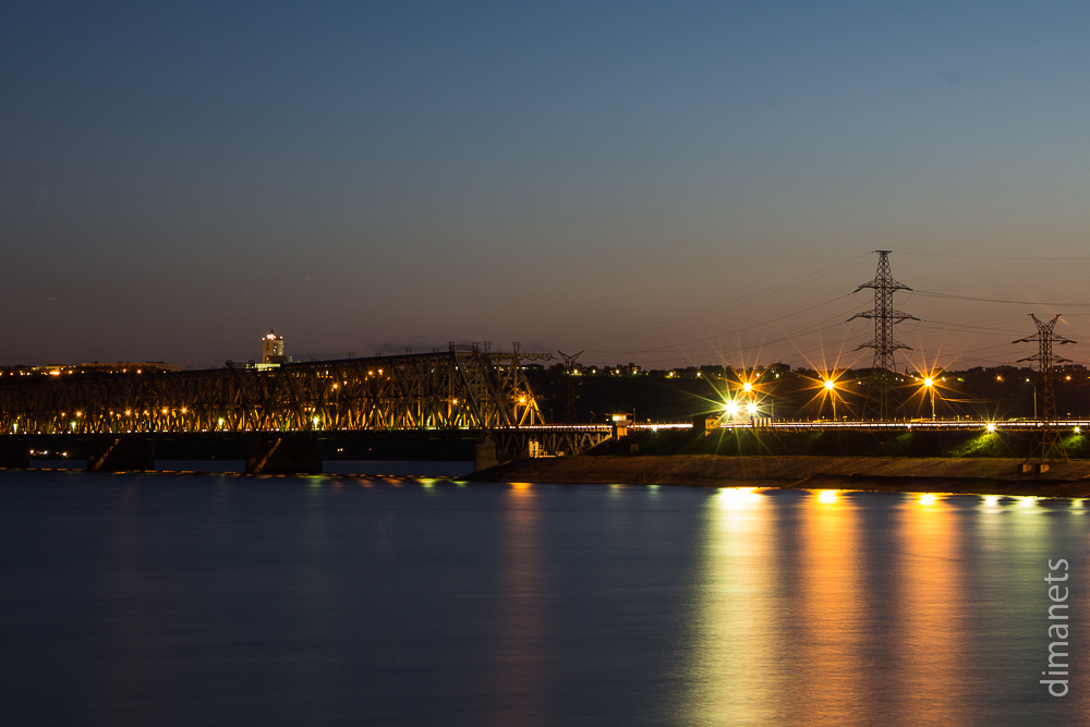 Мост императора. Ночью