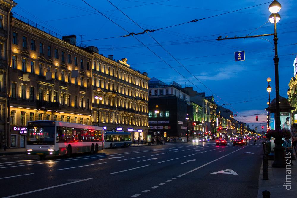 Санкт-Петербург. Первый день