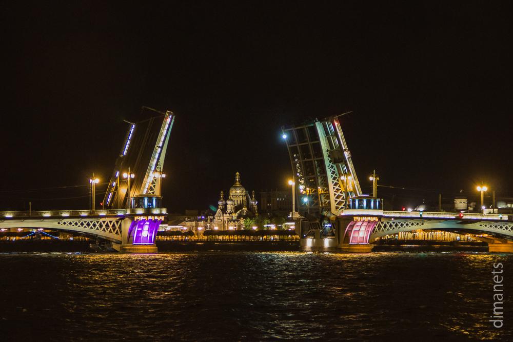 Санкт-Петербург. Вечер и ночь