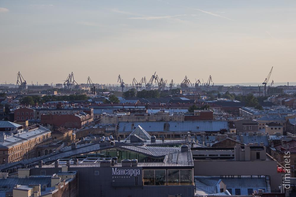 Санкт-Петербург. Вид с высоты. Заключение