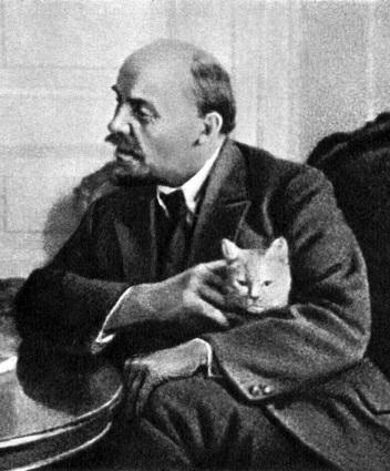 Ленин и Кот