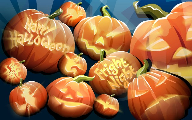 Хеллоуинские поздравлялки