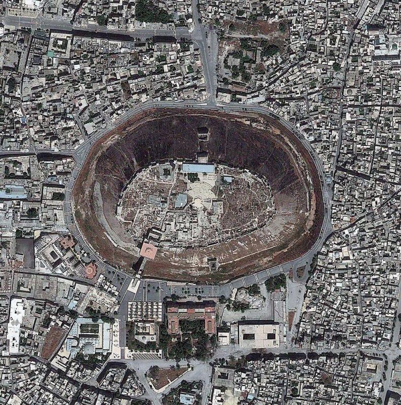 Цитадель Алеппо Сирия