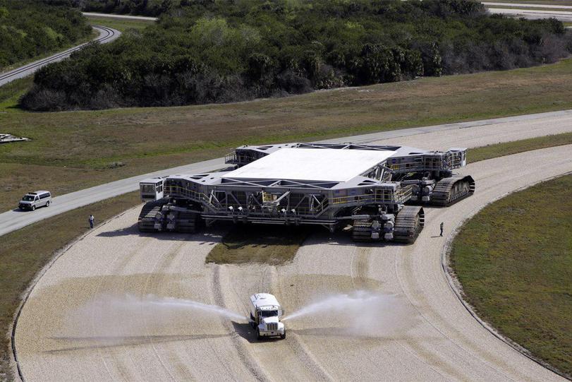 Гусеничный транспортер NASA