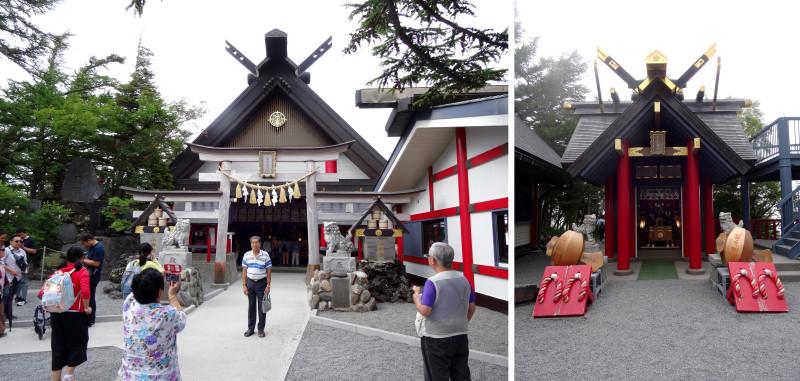 Синтоистский храм на территории пятой станции