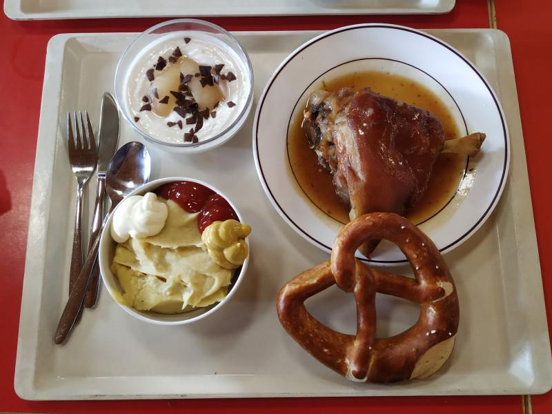Обед в Баварии