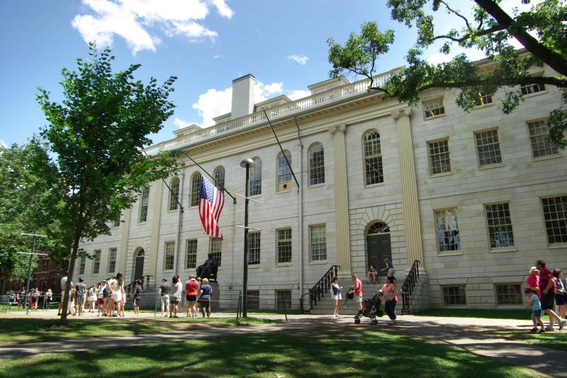 Главное здание Гарвардского университета (с моей прошлой поездки в Штаты)