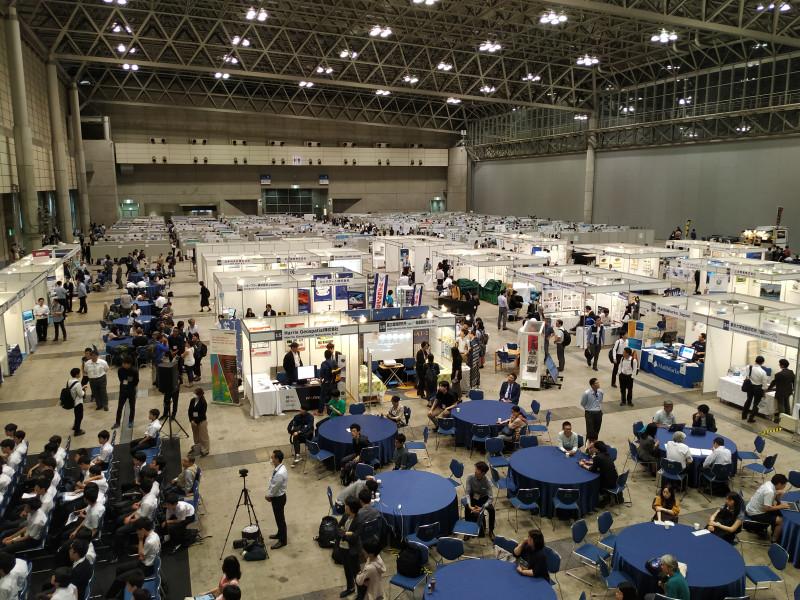 Фотография с конференции JpGU 2019 (Токио) для привлечения внимания