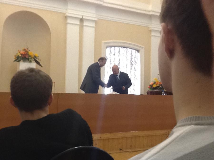 Завершение встречи с Н.Н. Леденцовым