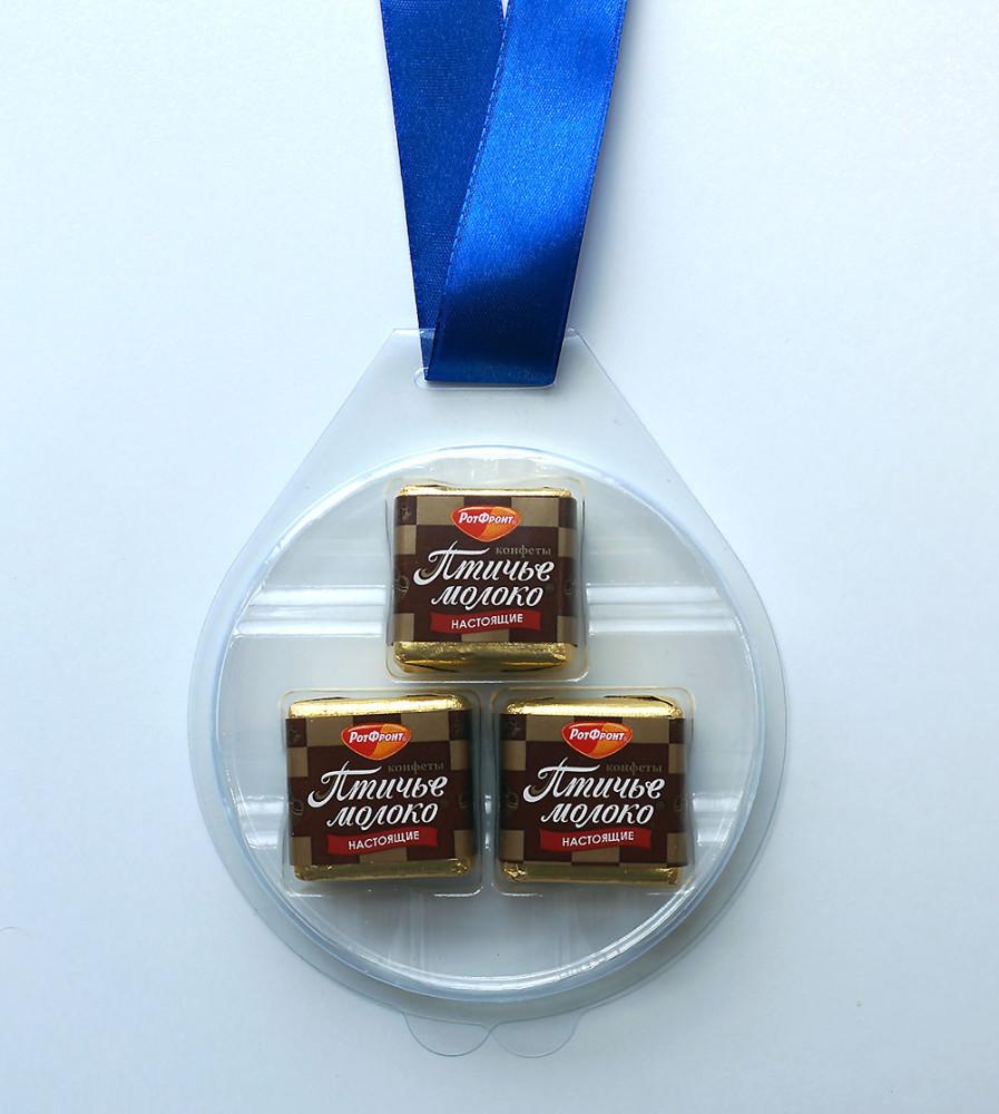 Своими руками шоколадная медаль.