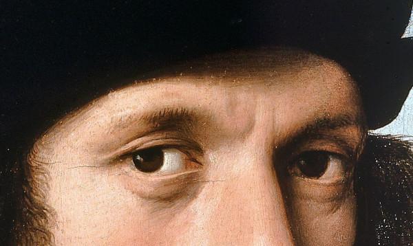 47.Портрет Агноло Дони (1506) (63х45) (Флоренция, Палаццо Питти, галл.Палатина)