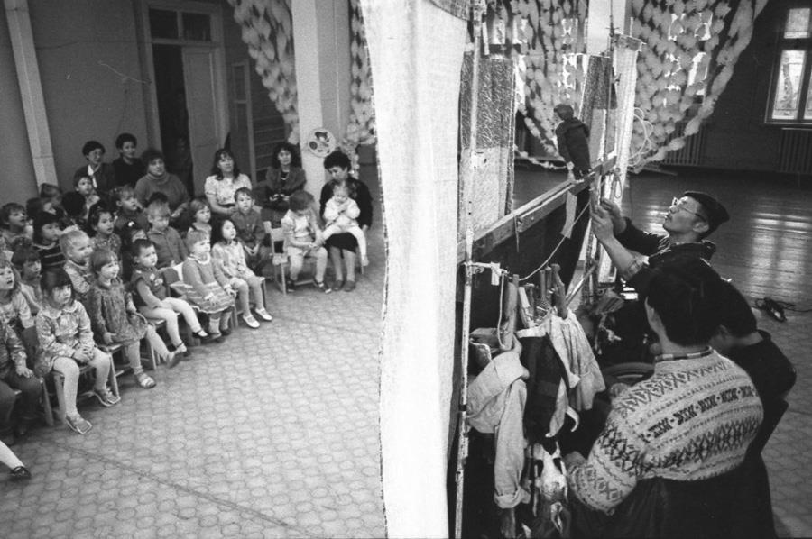 1996г. Алма-ата. Самодеятельный театр «Улыбка»