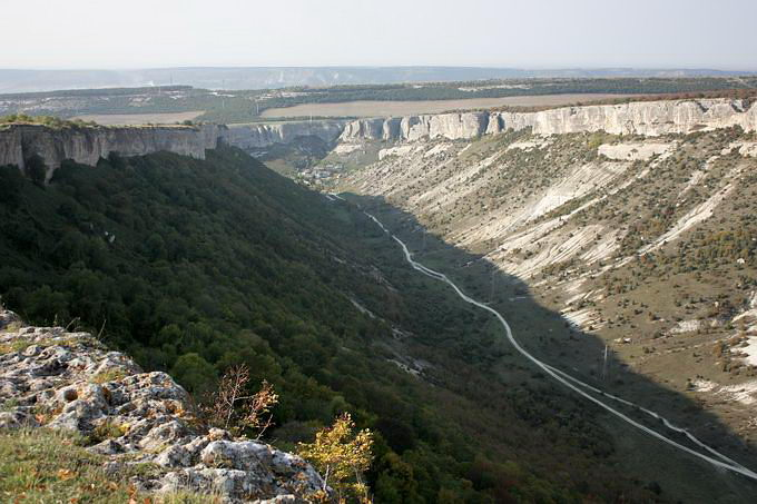 Вид на долину Ашлама-Дере