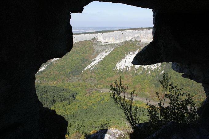 В пещерном монастыре
