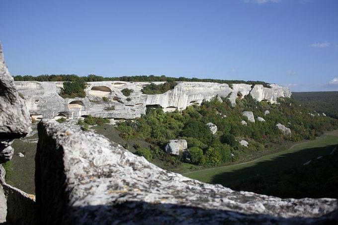 Вид с северной стороны плато