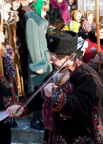 Скрипач-колядник
