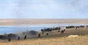 Донузлав. Военно-морские учения