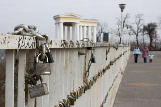 Тёщин мост с замками вечной любви