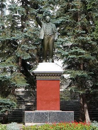 Евпатория. Памятник В.Ленину