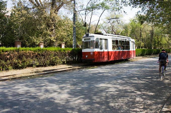 Евпатория. Знаменитый трамвай