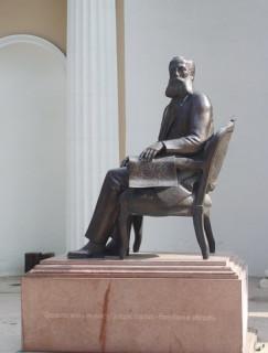 Памятник Маразли (до переноса)