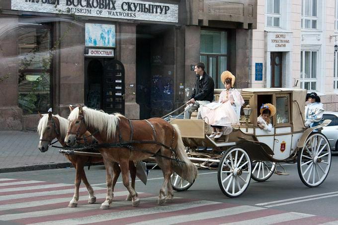 Одесса. У Музея восковых фигур