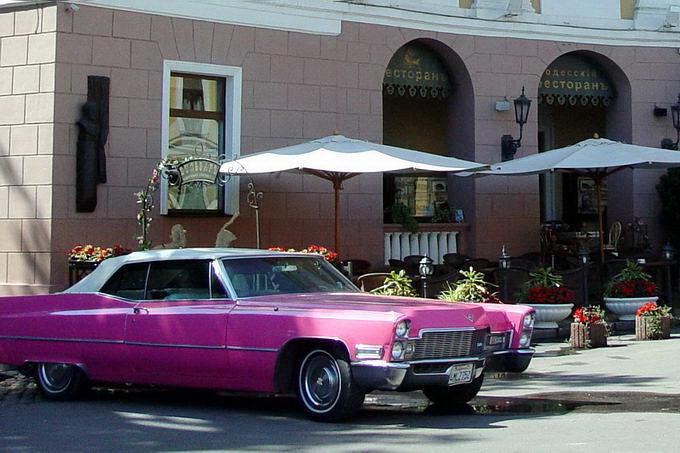 Одесса. Розовый Кадиллак