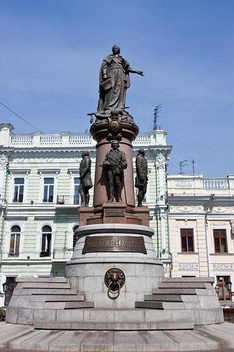 Одесса. Памятник Екатерине