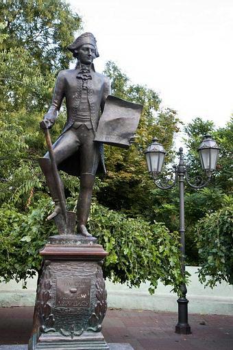 Одесса. Памятник Иосифу Дерибасу