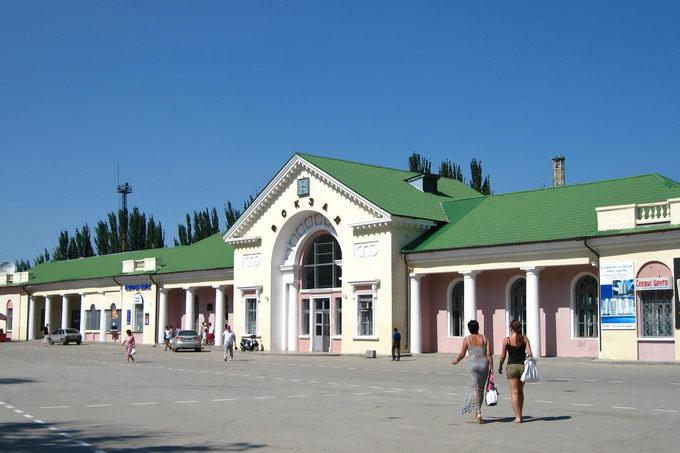 Феодосия. Ж/д вокзал