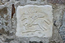 Рисунки на каменной стене