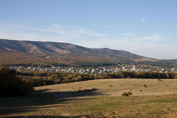 Вид на Старый Крым