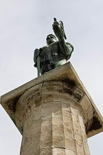 Белград. Калемегдан. Победник