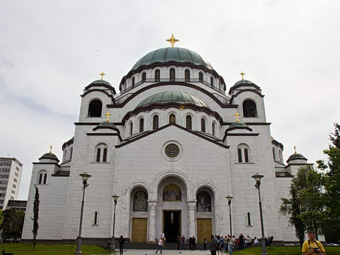 Белград. Храм Святого Саввы