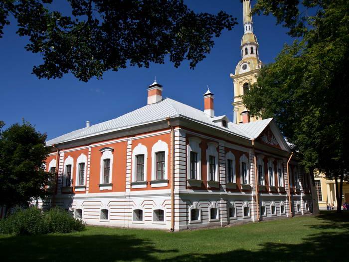 Петропавловская крепость. Комендантский дом
