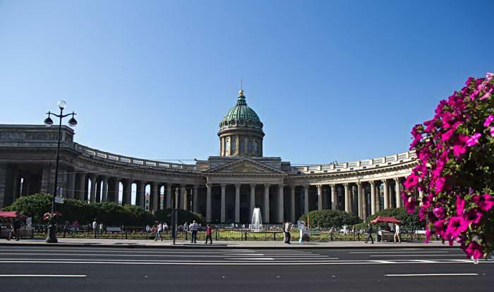 Санкт-Петербург. Казанский собор