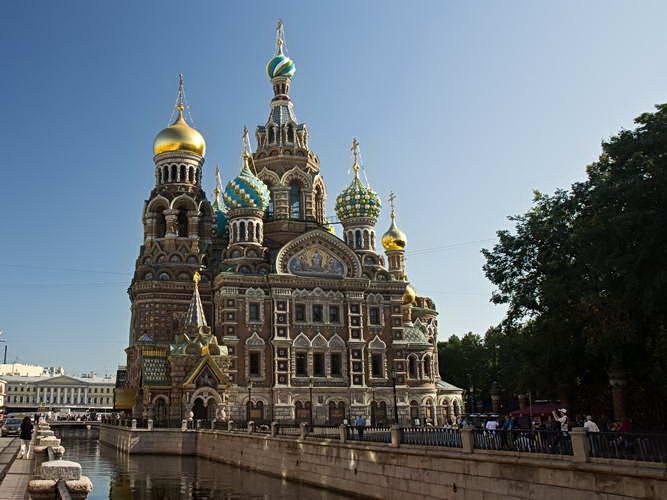Санкт-Петербург. Храм Спаса-на-крови