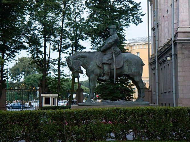 Санкт-Петербург. Памятник Александру III
