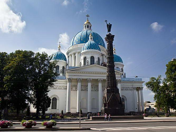 Санкт-Петербург. Измайловский собор