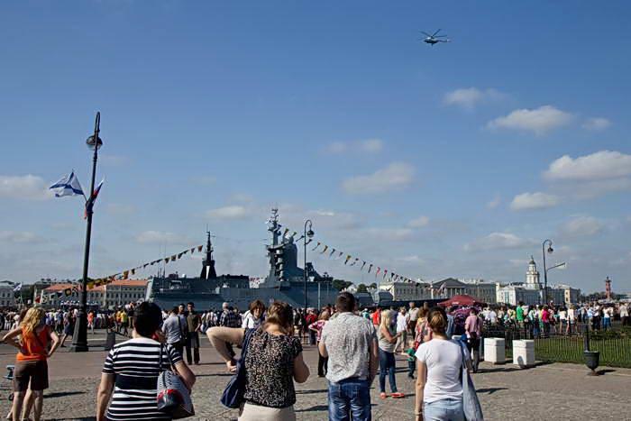 Санкт-Петербург. На набережной