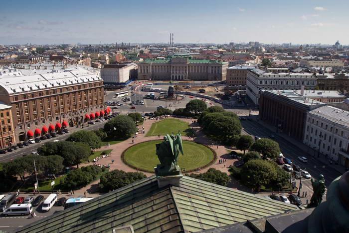 Санкт-Петербург. Вид с Исаакиевского собора