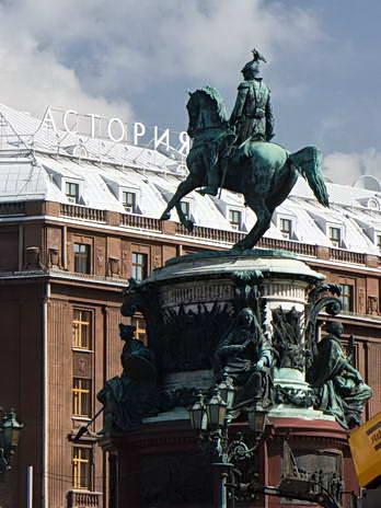 Санкт-Петербург. Памятник Николаю I