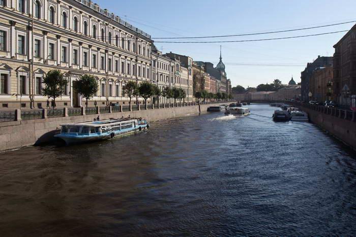 Санкт-Петербург. Речка Мойка