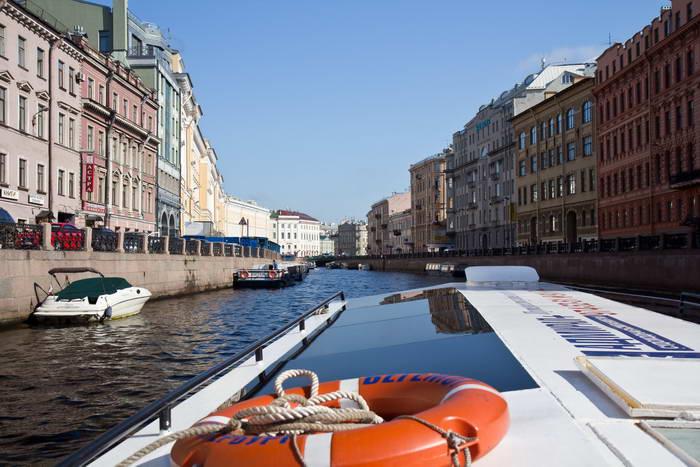 Санкт-Петербург. Река Мойка