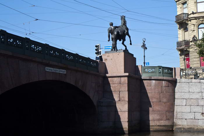 Санкт-Петербург. Аничков мост