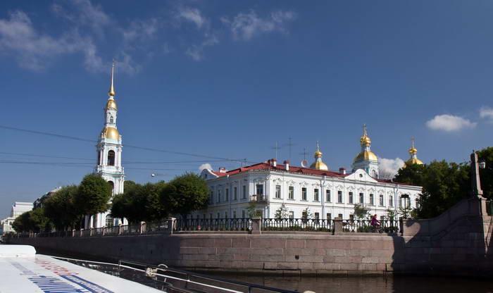 Санкт-Петербург. Перекресток семи мостов